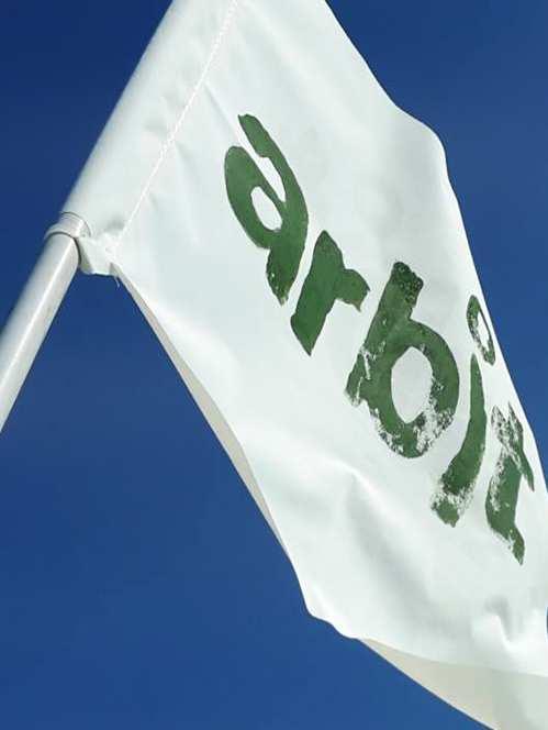 bandiera dell'associazione Arbit del Trasimeno